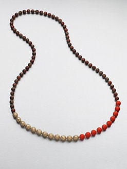 FLorian - Tri-Tone Beaded Necklace