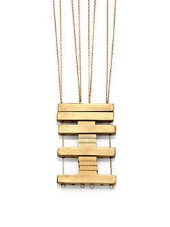 Etten Eller - Stack Bars Long Pendant Necklace