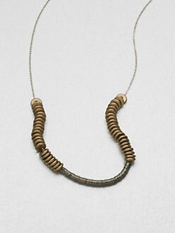 Etten Eller - Sequins & Nuts Collar Necklace