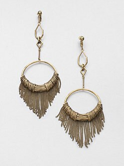 Aurelie Bidermann - Zia Fringe Earrings