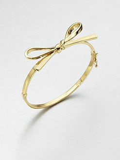 Kate Spade New York - Skinny Bow Bangle Bracelet
