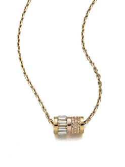 Michael Kors - Barrel Pendant Necklace