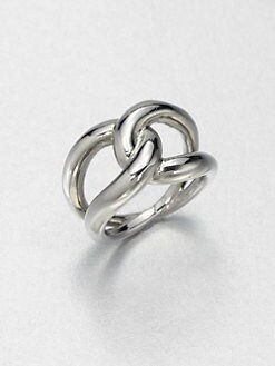 Michael Kors - Twisted Ring/Silvertone