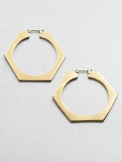 Marc by Marc Jacobs - Bolt Hoop Earrings
