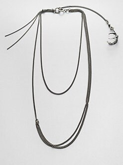 Ann Demeulemeester - Multi-Row Bird Claw Necklace