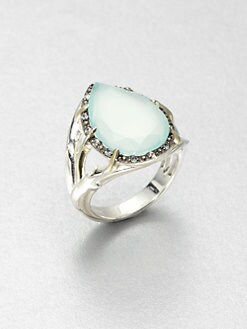 Elizabeth and James - Semi-Precious Multi-Stone Teardrop Ring
