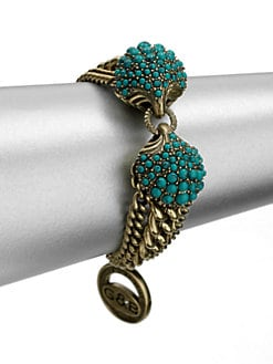 Giles & Brother - Circe Turquoise Chain Bracelet