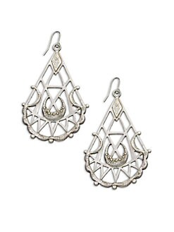 Bing Bang - Sacred Geometry Drop Earrings