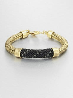 Orly Genger - Metallic Rope Bracelet
