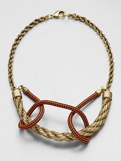 Orly Genger - Intertwined Rope Necklace