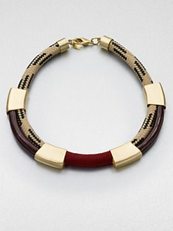 Orly Genger - Enamel Rope Collar Necklace