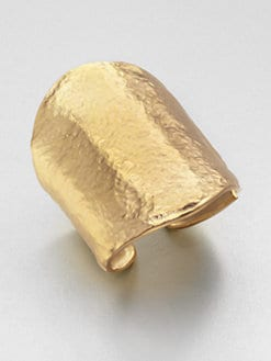 Kenneth Jay Lane - Hammered Cuff Bracelet