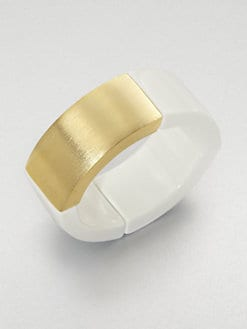 Kenneth Jay Lane - Wide Stretch Bracelet