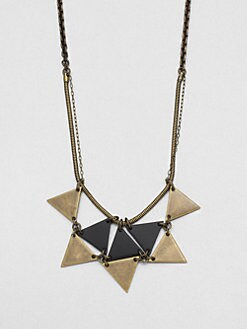 Bliss Lau - Awaken Two-Tone Disc Bib Necklace