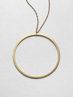 Jennifer Zeuner Jewelry - Circle Pendant Necklace
