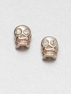 Bing Bang - Sparkle Skull Earrings