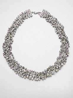 ABS by Allen Schwartz Jewelry - Twisted Multi-Row Necklace