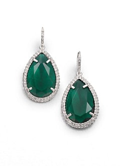 ABS by Allen Schwartz Jewelry - Faceted Drop Earrings