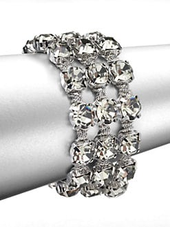 ABS by Allen Schwartz Jewelry - Faceted Multi-Row Bracelet