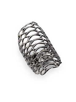 Elizabeth and James - Openwork Ring/Silver