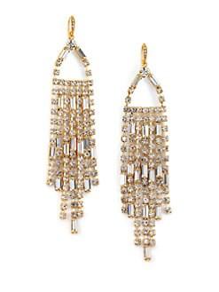 ABS by Allen Schwartz Jewelry - Fringe Drop Earrings