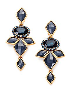 Oscar de la Renta - Navette Drop Earrings