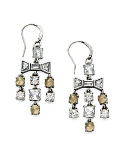 Marc by Marc Jacobs - Mixed Stones Cascade Earrings