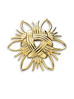 Kenneth Jay Lane - Abstract Sunburst Pin