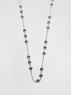 ABS by Allen Schwartz Jewelry - Faceted Stone Chain Necklace
