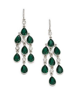 ABS by Allen Schwartz Jewelry - Faceted Chandelier Earrings