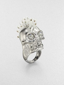 Alexander McQueen - Dandelion Skull Ring