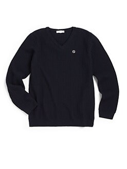 Gucci - Boy's Metal GG Merino Wool Sweater