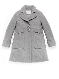 Gucci - Girl's Wool & Cashmere Coat