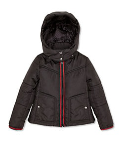 Gucci - Girl's Hooded Nylon Jacket
