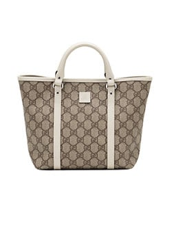Gucci - Girl's GG Supreme Canvas Tote Bag
