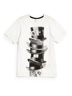 Diesel - Boy's Top Hats & Skull Tee