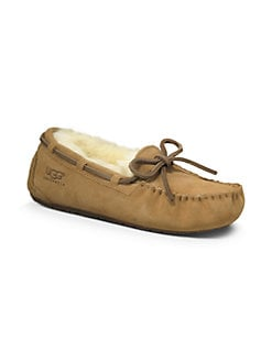 UGG Australia - Kid's Dakota Suede Slippers