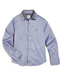 Armani Junior - Boy's Cotton Sportshirt