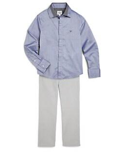 Armani Junior - Boy's Cotton Sportshirt