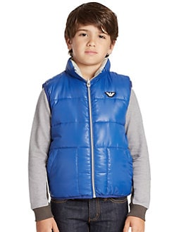 Armani Junior - Boy's Reversible Puffer Vest