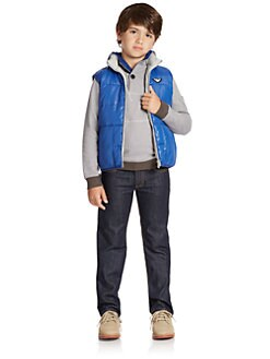 Armani Junior - Boy's Reversible Puffer Vest