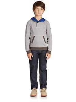 Armani Junior - Boy's Melange Hoodie