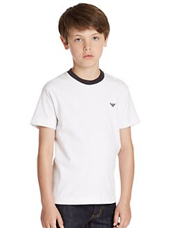 Armani Junior - Boy's Ringer Tee