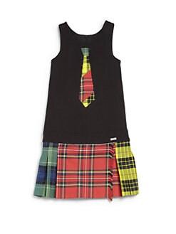 Junior Gaultier - Girl's Plaid Kilt Dress