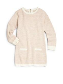 Chloe - Girl's Knit Sweaterdress