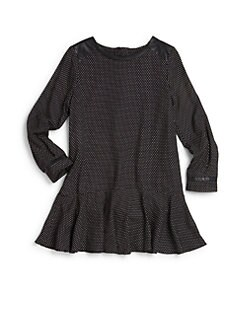 Chloe - Girl's Mini Dot Dress