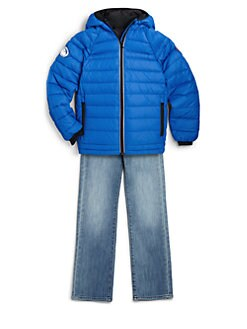 Canada Goose - Boy's Sherwood Down Hoodie Jacket/Blue