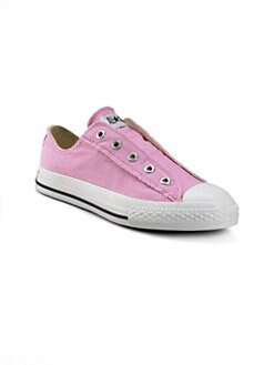 Converse - Infant's, Toddler's & Girl's Chuck Taylor All Star Slip-On Sneakers/Pink