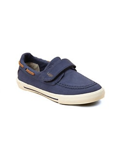 UGG Australia - Toddler's & Kid's Shearling-Lined Canvas Slip-Ons
