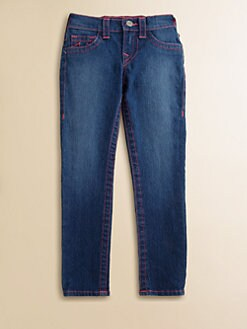 True Religion - Girl's Casey Ultra-Skinny Denim Leggings